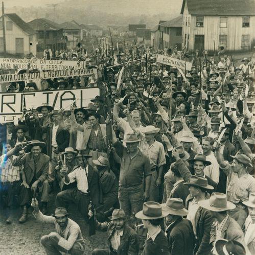 Revolta dos posseiros, 1957, sudoeste do Paraná.