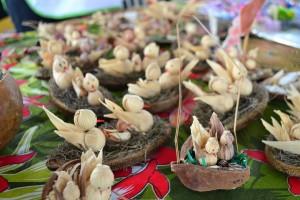 Produtos expostos na Feira (foto: Franciele Petry Schramm)