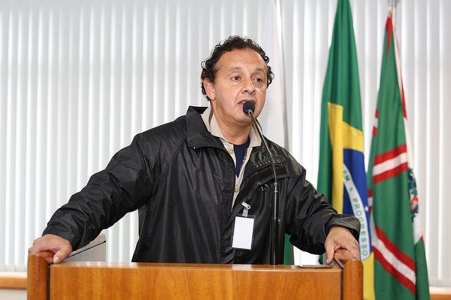Marcos, integrante do Conselho do Cefuria (Foto: Andressa Katriny, da Câmara Municipal de Curitiba)